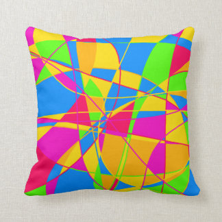 Real Colorful Throw Pillows