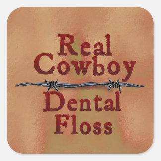 Real Cowboy Sticker