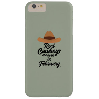 Real Cowboys are bon in February Zi955 Barely There iPhone 6 Plus Case