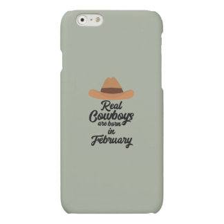 Real Cowboys are bon in February Zi955 Matte iPhone 6 Case