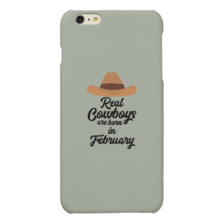 Real Cowboys are bon in February Zi955 Matte iPhone 6 Plus Case