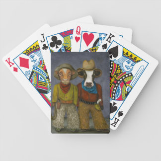 Real Cowboys Bicycle Playing Cards