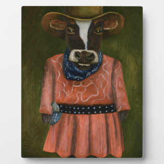 Real Cowgirl Plaque