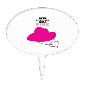 Real Cowgirls Cake Topper