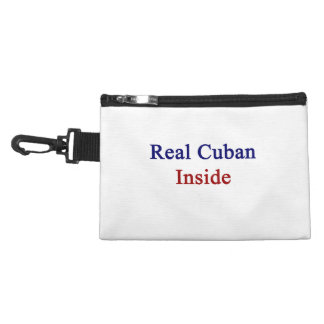 Real Cuban Inside Accessories Bag
