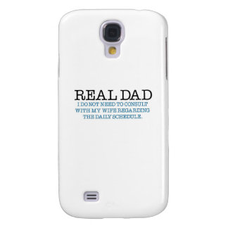 Real Dad (blue diaper) Samsung S4 Case