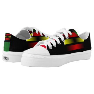 REAL DEAL JAMAICAN PRINTED SHOES