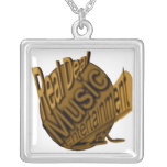 real deal logogold ZAZZLE Custom Necklace
