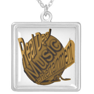 real deal logogold ZAZZLE Silver Plated Necklace