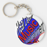 Real Deal Music Entertainment Key Chains