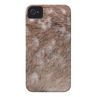 Real Deer Fur Photo Sampling Wildlife Gift iPhone 4 Cover