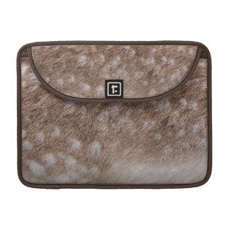 Real Deer Fur Photo Sampling Wildlife Gift MacBook Pro Sleeve