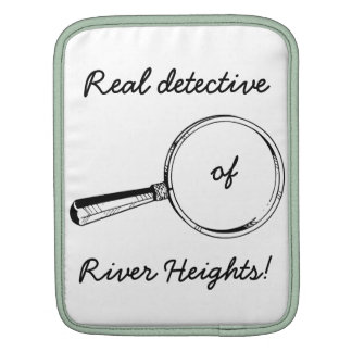 Real Detective of River Heights!: Funny iPad Case iPad Sleeves