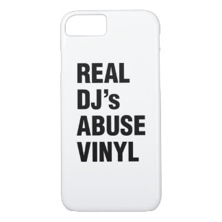 REAL DJ's ABUSE VINYL iPhone 8/7 Case