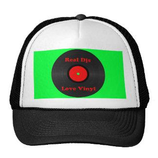 Real Djs Love Vinyl Hat