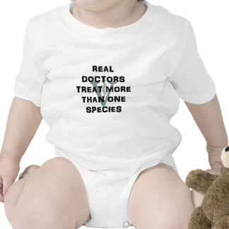 Real Doctors Treat More Than One Species Bodysuits