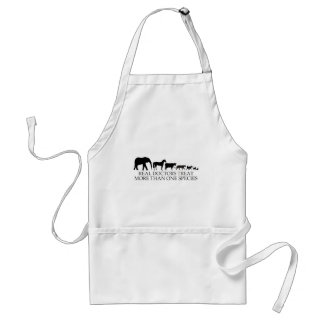 Real Doctors (Vets) Treat More Than One Species Adult Apron