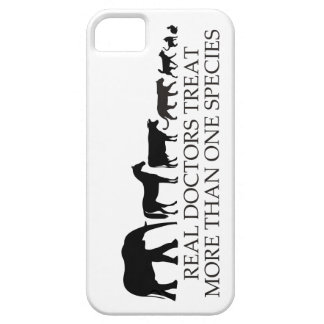 Real Doctors (Vets) Treat More Than One Species iPhone 5 Cases