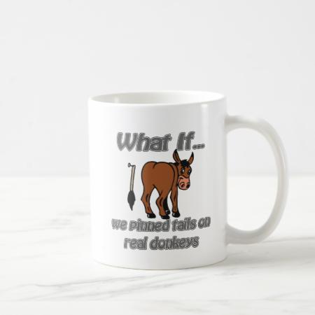 real donkeys mug