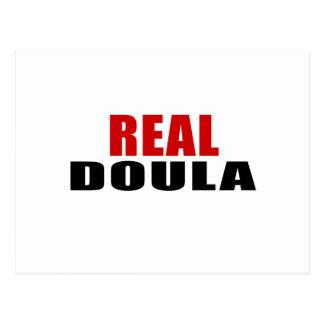 REAL DOULA POSTCARD