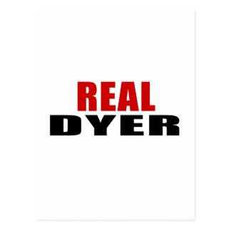 REAL DYER POSTCARD