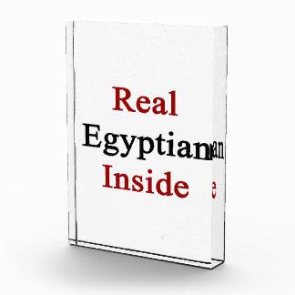 Real Egyptian Inside Acrylic Award