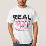 Real Enough Man Enough Best Friend 2 Breast Cancer Tshirt