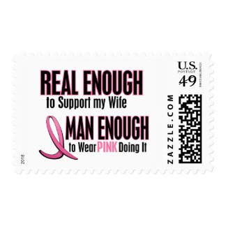 Real Enough Man Enough To Wear Pink WIFE Stamps