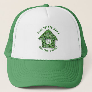 Real Estate Agency And Business Name Trucker Hat