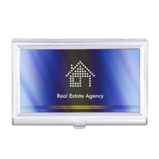 Real Estate Agency Business Cards Holder Case For Business Cards