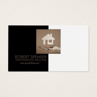 Real Estate Agency House Photo Business Card