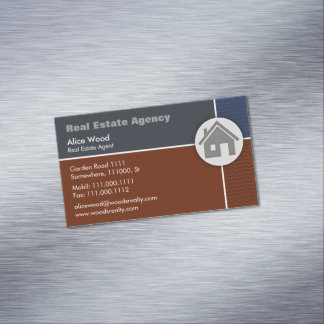 Real Estate Agency | Professional Magnetic Business Card