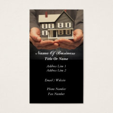 Real Estate Agent Business Card at Zazzle