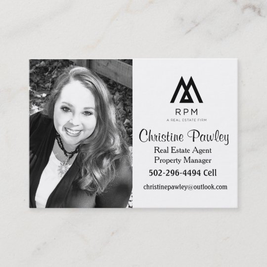 real estate agent business card - Real Estate Agent Business Cards