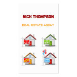 Real Estate Agent Business Card Template