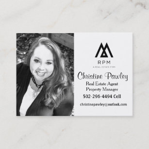 Real estate agent business cards zazzle real estate agent business card reheart Images