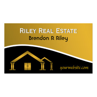 Real Estate Agent Business Cards Business Card