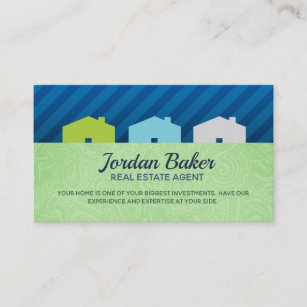 Mortgage loan business cards zazzle real estate agent business cards reheart Choice Image