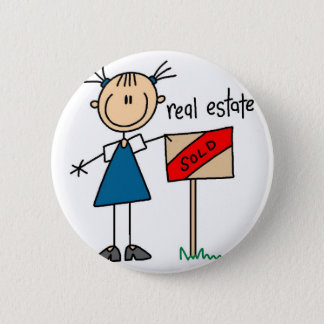 Real Estate Agent Button