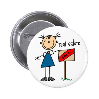 Real Estate Agent Pins
