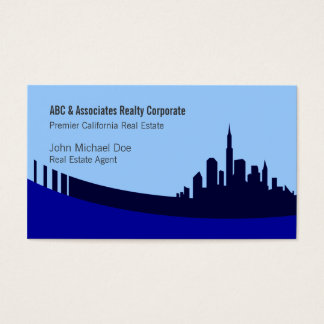 Real Estate Agent Custom Business Cards
