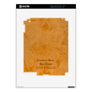Real Estate Agent Electronic Skins iPad 2 Decals