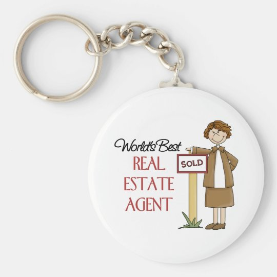 Real Estate Agent Gift Keychain
