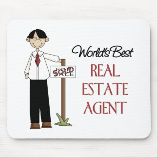 Real Estate Agent Gift Mouse Pad