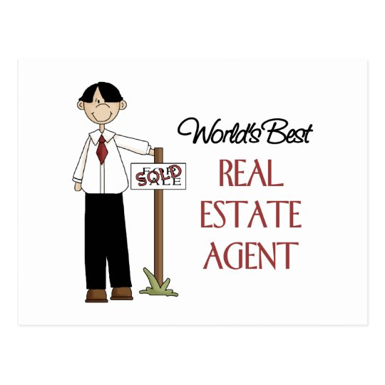 Real Estate Agent Gift Postcard