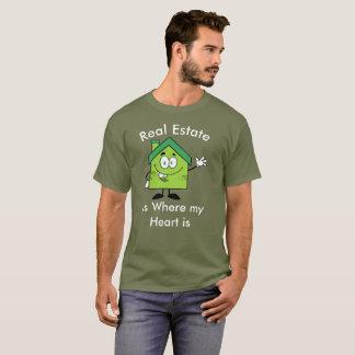 Real Estate Agent @ Heart / Buy & Sell Humor Shirt