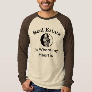 Real Estate Agent @ Heart / Realtor Humorous Shirt