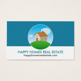 Real Estate Agent/House Themed Business Cards