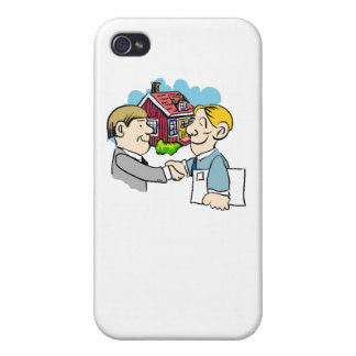 Real Estate Agent iPhone 4 Cover