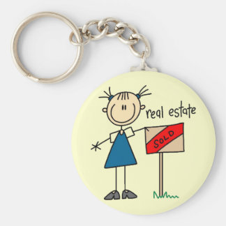 Real Estate Agent Keychain